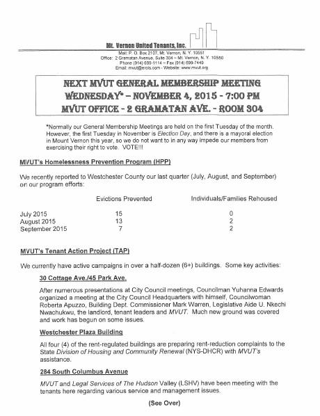 MVUT Nov Update p1